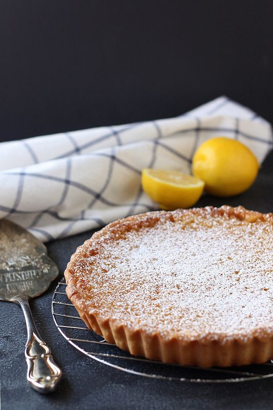 Whole Lemon Tart | Baking | Pinterest
