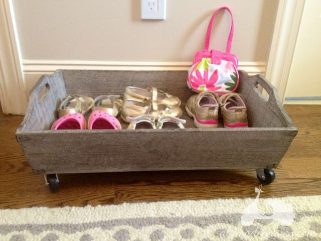 shoe tray for kids' favorite shoes - rooms/closets
