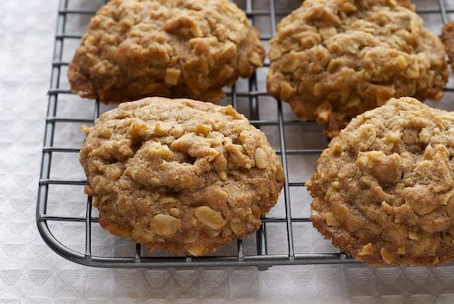 Toffee almond oatmeal cookies. Interesting variation on traditional ...