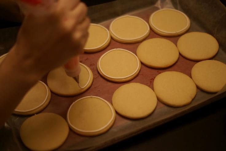 cookie icing tutorial