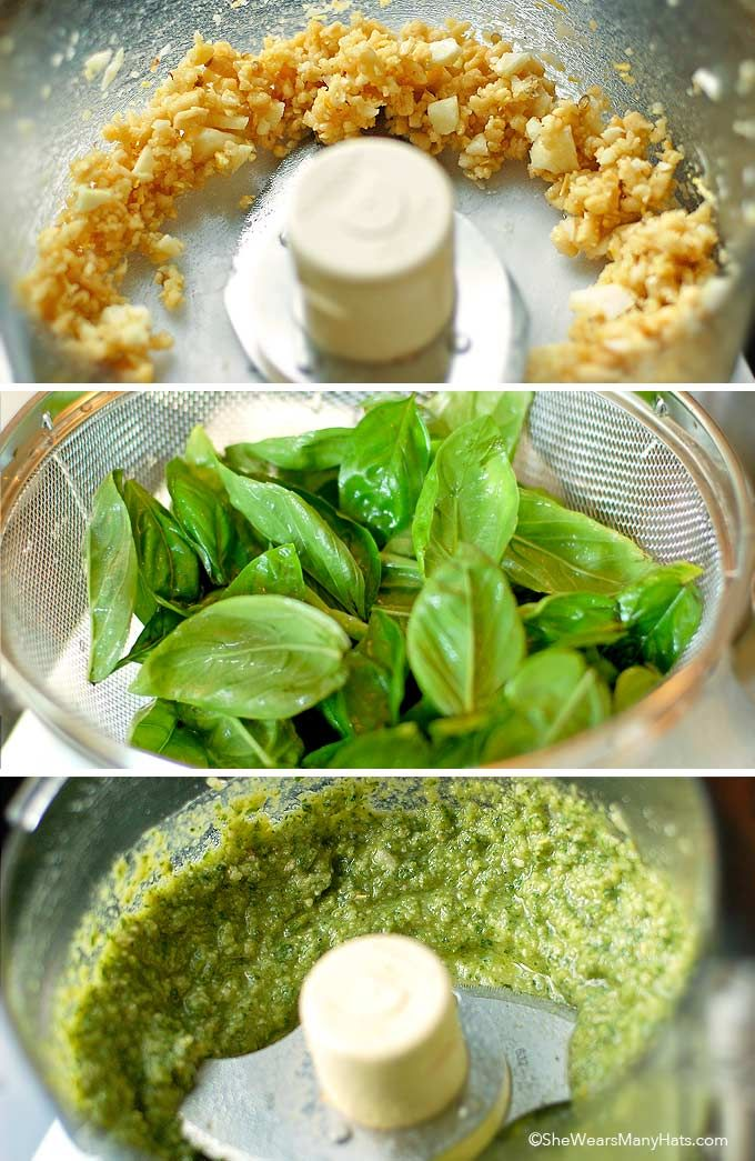 How to make basic Basil Pesto Recipe from @wearsmanyhats