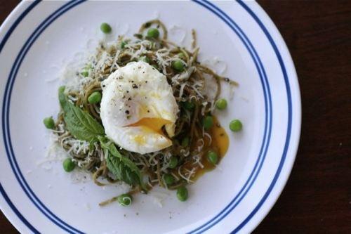 Spaghetti with Spinach & Herb Pesto | > PASTA, RICE & NOODLES | Pi...