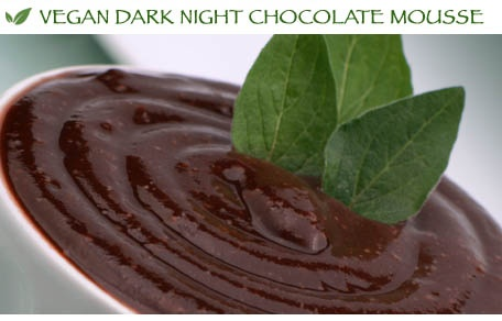 Vegan Dark Night Chocolate Mousse