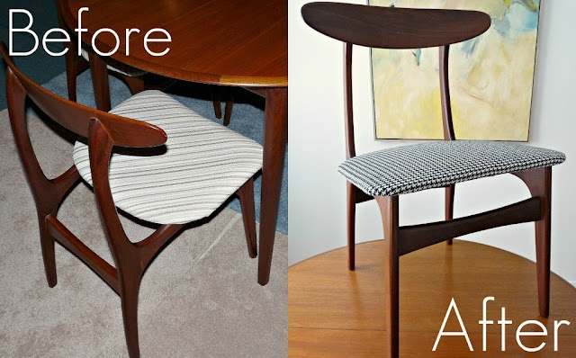 diy reupholster dining room chairs crafts to try pinterest