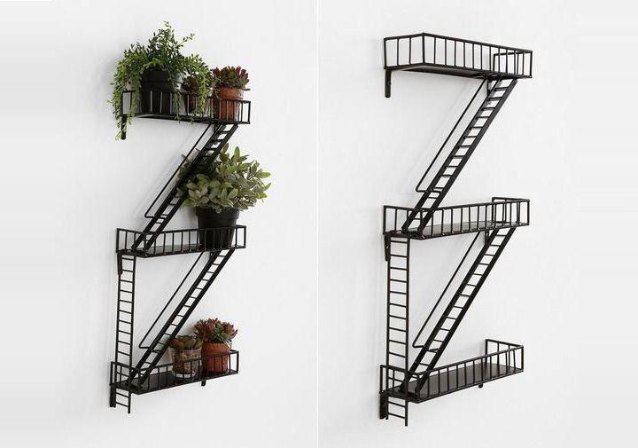 Fire Escape Wall Shelf Objects I Like Pinterest