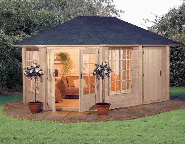 Garden room tesco direct tiny houses pods cabins for Garden pool tesco