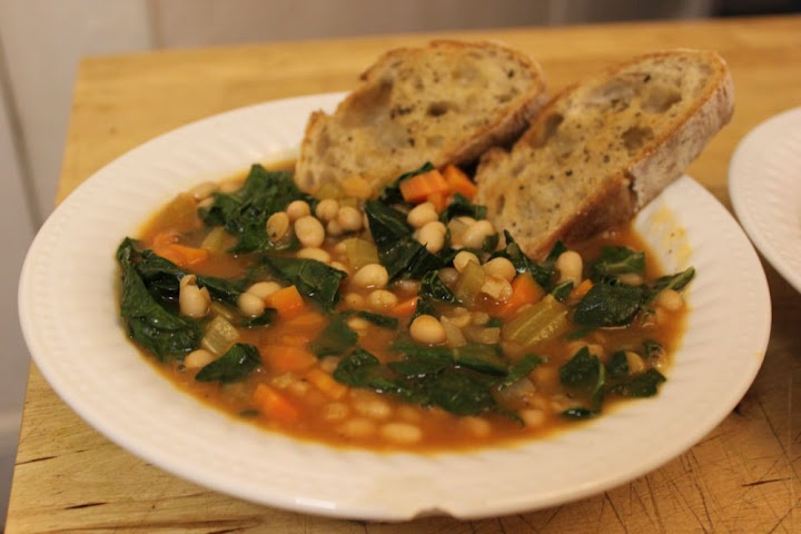 swiss chard and white bean stew | Food - Everything Healthy & Delicio ...
