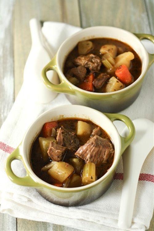Irish Beef Stew (Slow Cooker) Recipe | Recipes | Pinterest