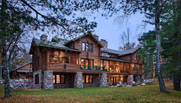 Pin by tara de leeuw mcdonough on future dream house ideas for Rock and cedar homes