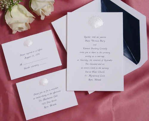 cheap beach theme wedding invitations wedding