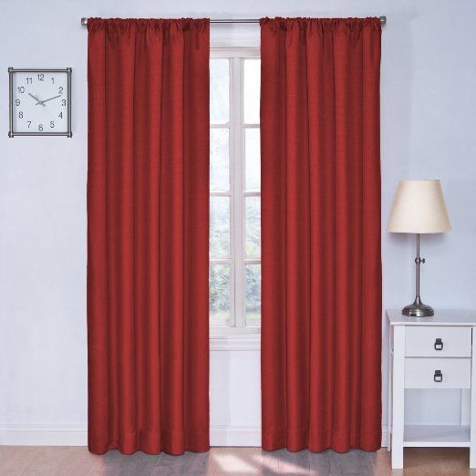 Amazon.com - Eclipse Kids Kendall Blackout Thermal Curtain Panel ...