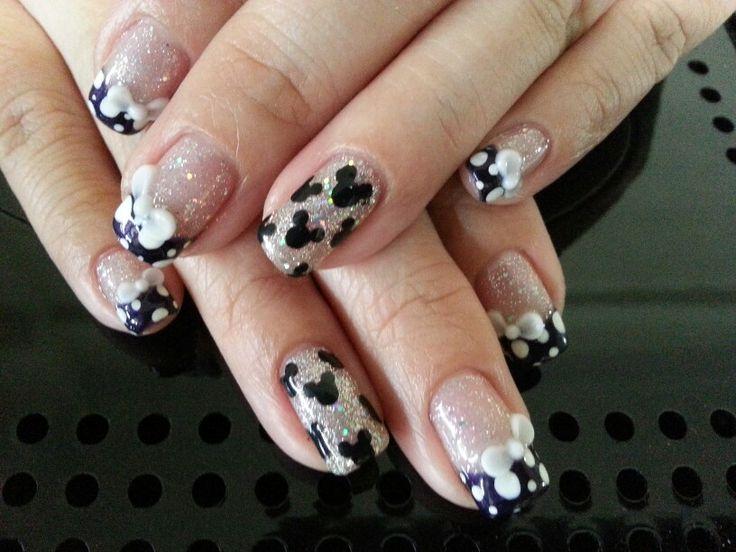 Mickey mouse nail art | Nails by N
