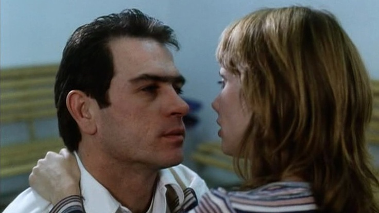 Tommy Lee Jones & Rosanna Arquette in The Executioner's Song