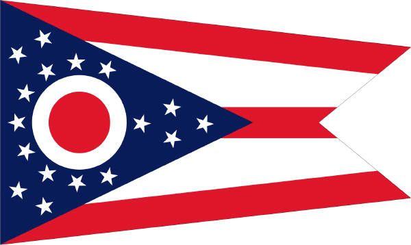ohio state buckeyes flags