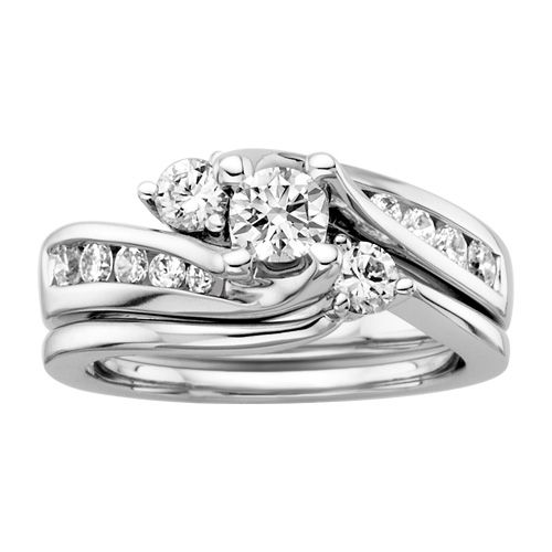 ... engagement ring though fred meyer jewelers 1 1 2 ct tw diamond wedding