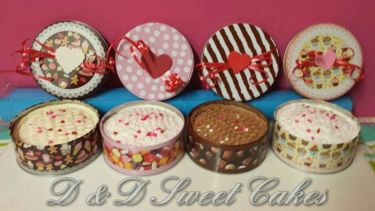 valentine's day cake tins