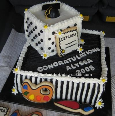 Cake Art Design School : Coolest Graduation Cake 19