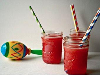 Raspberry Agua Fresca | Drinks | Pinterest