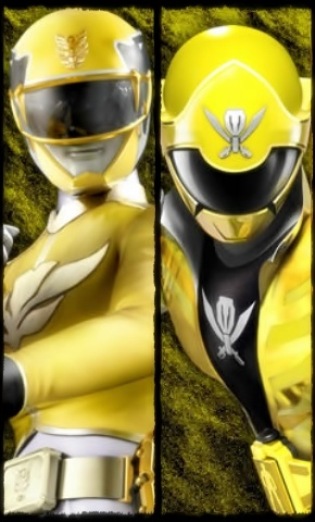 yellow power ranger megaforce - photo #17