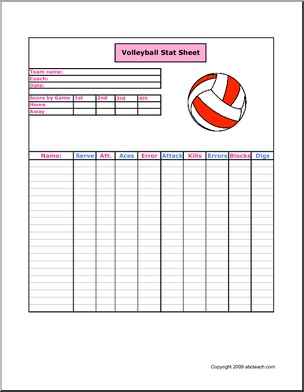 printable volleyball stat sheets pokemon go search for tips tricks cheats search at. Black Bedroom Furniture Sets. Home Design Ideas