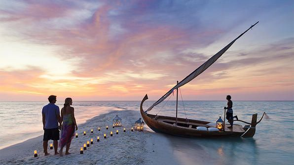 Travel's Best Honeymoons- The Maldives