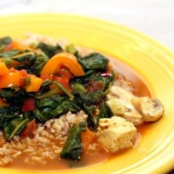 Coconut Curry Tofu | Who doesn't like to eat? | Pinterest