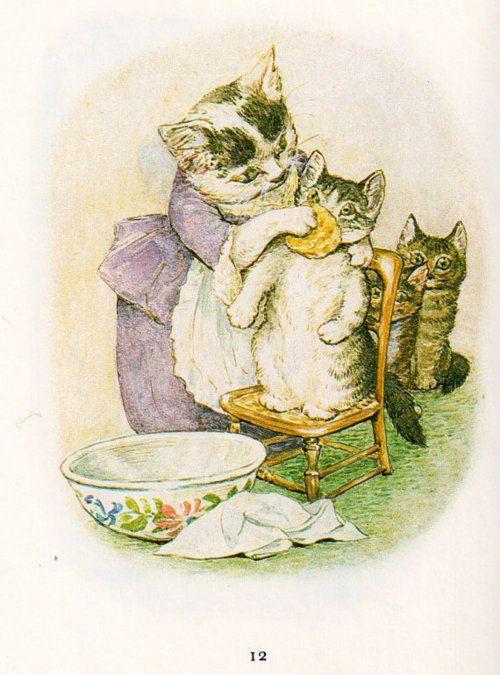 bath time - Beatrix Potter