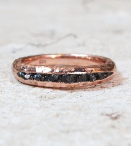Raw Black Diamond Ring by Monkey Forest Road on Scoutmob Shoppe