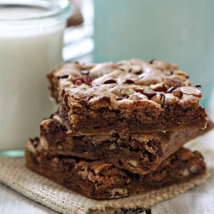 Cinnamon Blondies | Recipe