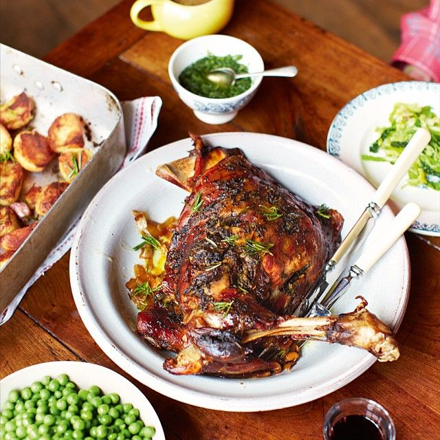 Jamie Oliver's Sunday Roast Recipe — Dishmaps