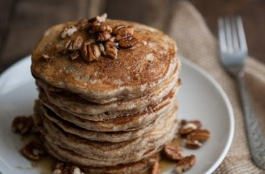 Brown Butter and Pecan Pancakes — Naturally Ella