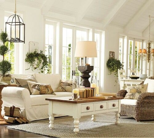 off white living room home pinterest