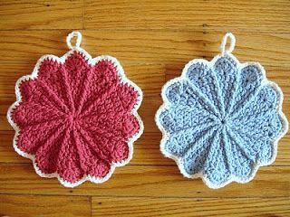 Crochet Dishcloths on Pinterest
