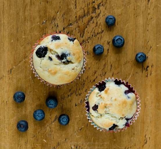 COCONUT BLUEBERRY MUFFINS | food | Pinterest