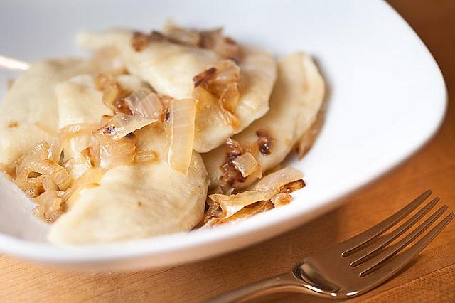 Wild Mushroom Pirogies Recipe — Dishmaps