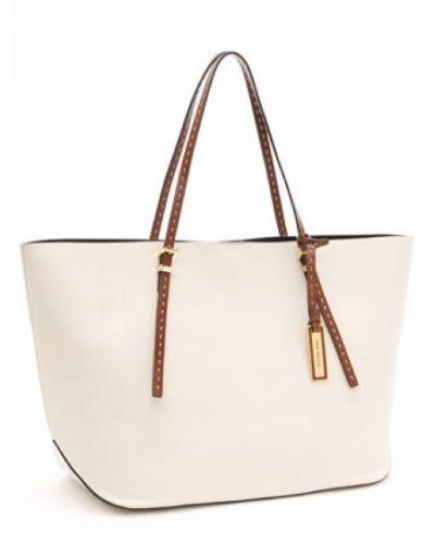 MICHAEL Michael Kors Gia Ew Tote Ecru Leather MK_bags_2409 - $69.98