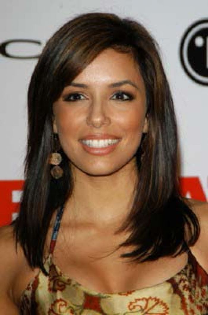 Medium Length Hairstyles for Long Brown Hair with Bangs View Image