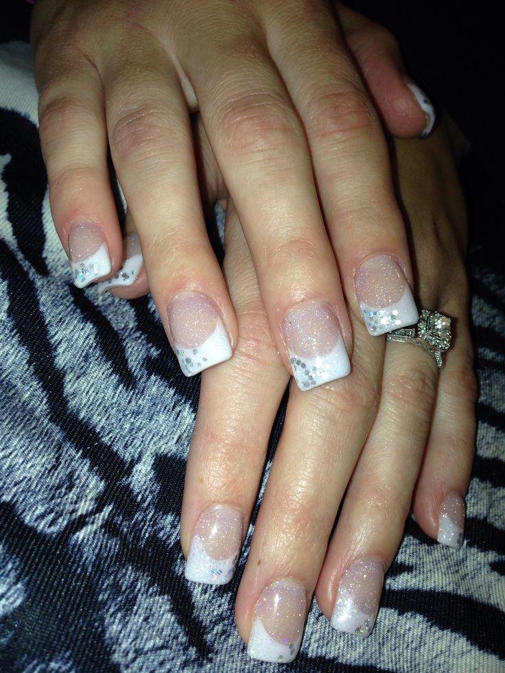 Outstanding Wedding Acrylic Nails Photos - Nail Art Design Ideas ...