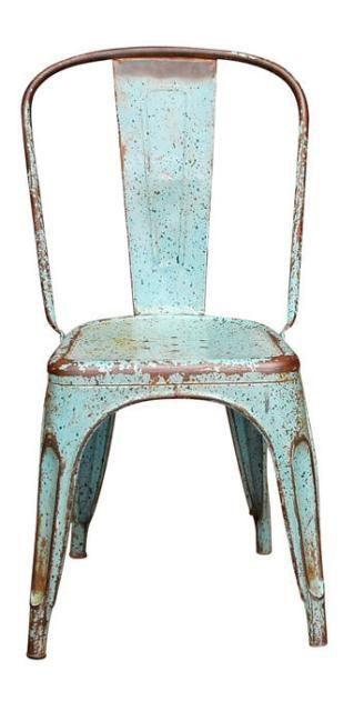 turquoise Tolix