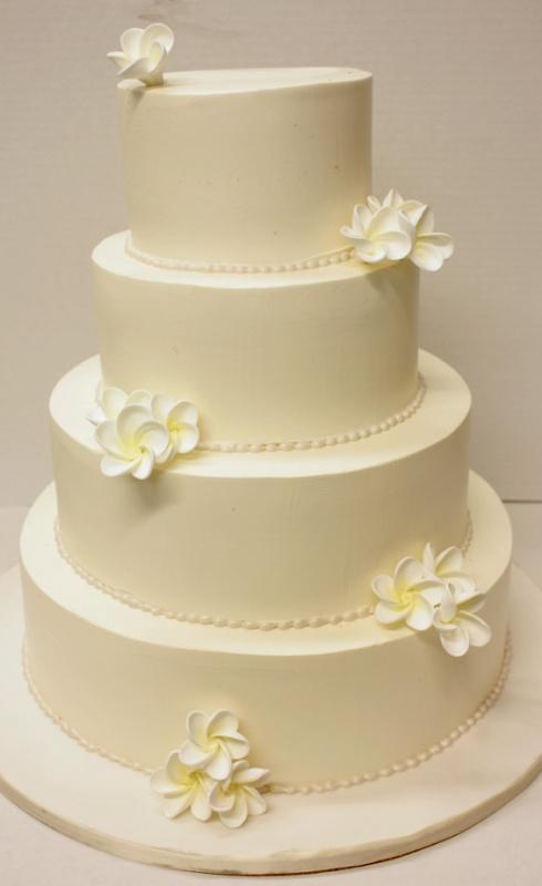 Simple Wedding Cake Design Buttercream : Wedding Cakes - buttercream Wedding ideas Pinterest