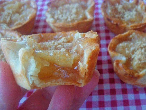 Apple Pie Sliders | Food | Pinterest