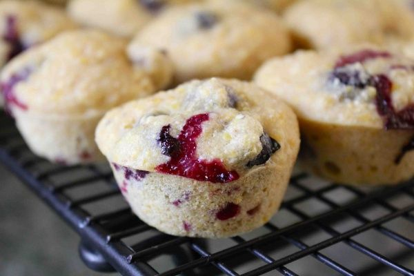 Blueberry Corn Muffins | Tried 'n True Recipes | Pinterest