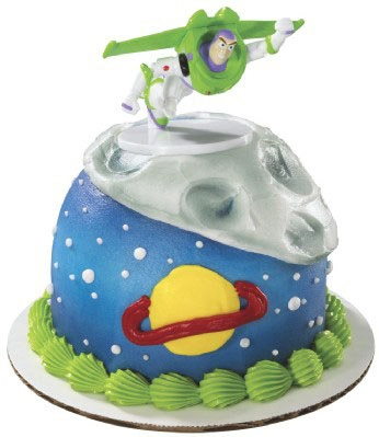 Toy Story Buzz Lightyear Flying Petite Cake Topper $3.60
