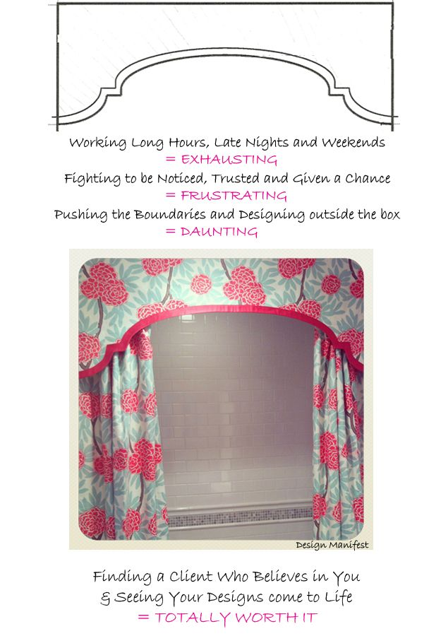 i love this shower curtain - Design Manifest: project girly glam