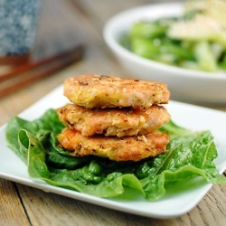 Salmon Burger - Get in my belly! | Foods | Pinterest
