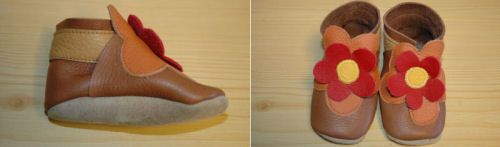 adore Robeez and MiniStar shoes... here's a good start at making