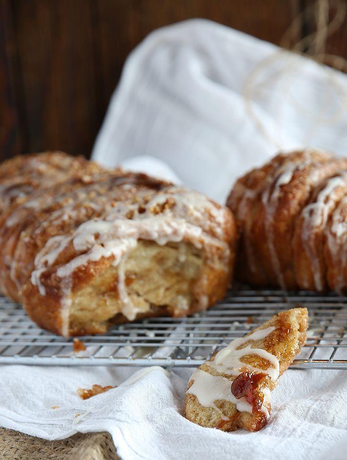 Cinnamon & Sugar Pull Apart Bread   food   Pinterest