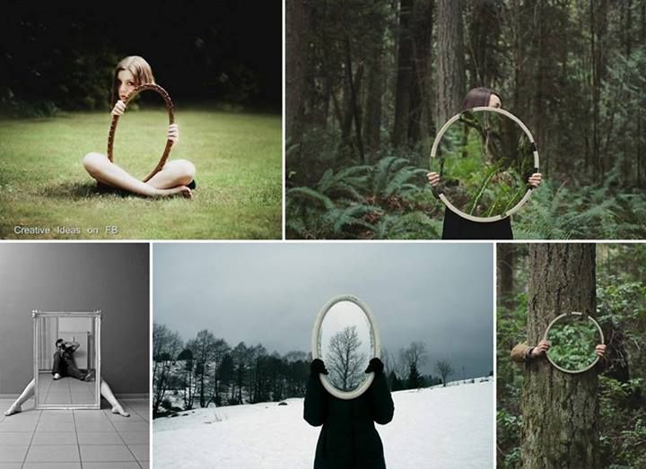 Cool images taken with a mirror | Photography Tips | Pinterest