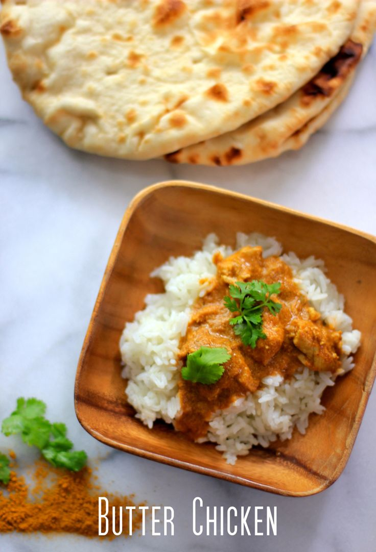 Butter Chicken Recipe - easy delicious | YUMMY.... | Pinterest