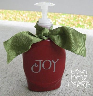 From mundane to fabulous...makeover that store bought soap dispenser!